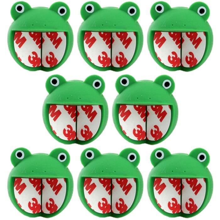 8 pcs bébé table coin sécurité protection couverture silicone anti-collision table coin couverture Vert Foncé
