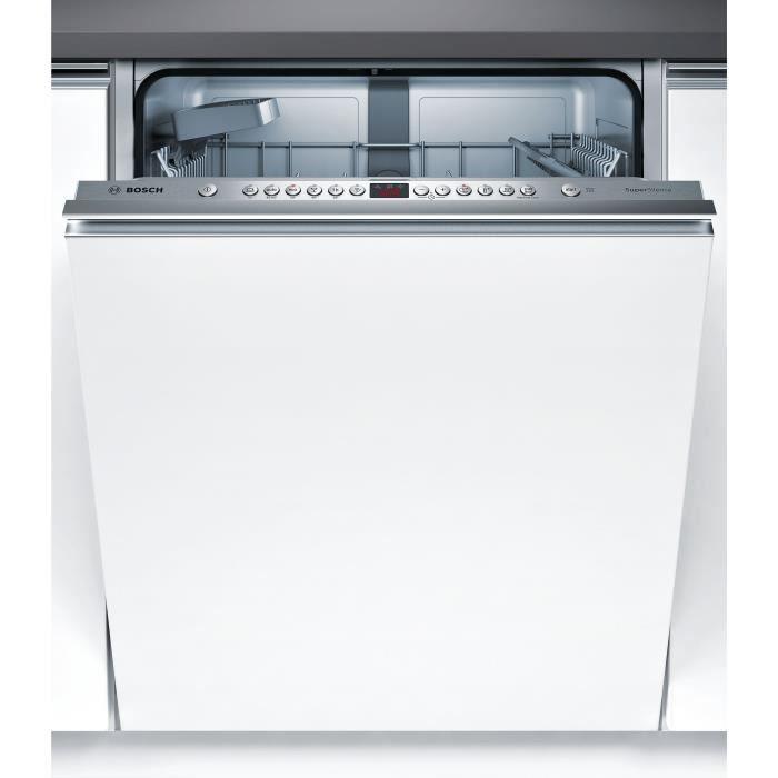 BOSH SMV46JX03E Lave-vaisselle - 13 couverts - 44 dB - A++ - Large60cm - Blanc -Moteur EcoSilence Drive