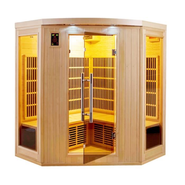 Sauna infrarouge apollon 3/4 monophasé