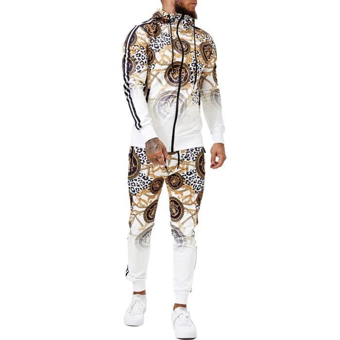 Survêtement fashion homme Survêt 1650 blanc