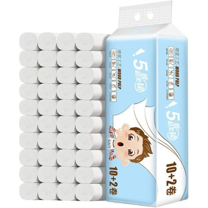 12 Rouleaux Papier Toilettes - Ecolabel
