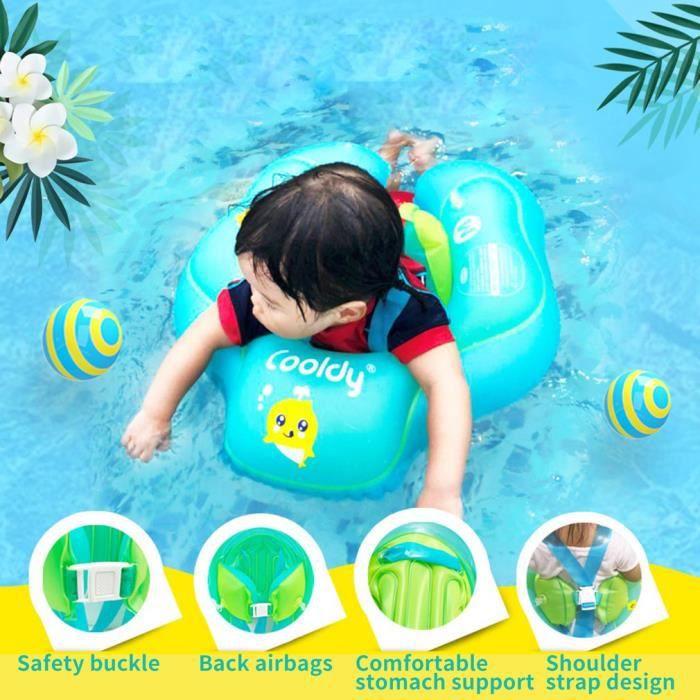 15cm Anneau de piscine pour 3-10 months 10-20 kg Anneau couché Anneau flottant