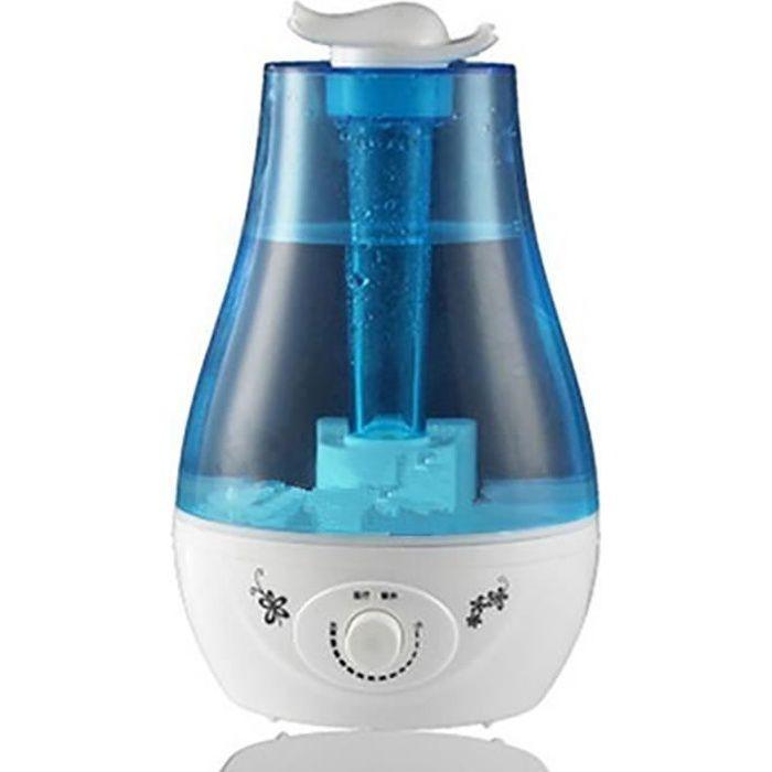 Humidificateur 3 Litre PLUIESOLEIL®Ultrasonic Mist humidificateur avec Diffuseur Aroma - Calme, Arrêt automatique, Longue durée