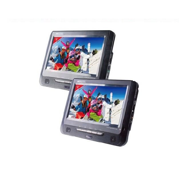 TAKARA VRT199 Lecteur DVD Portable 2 Combinés 9-