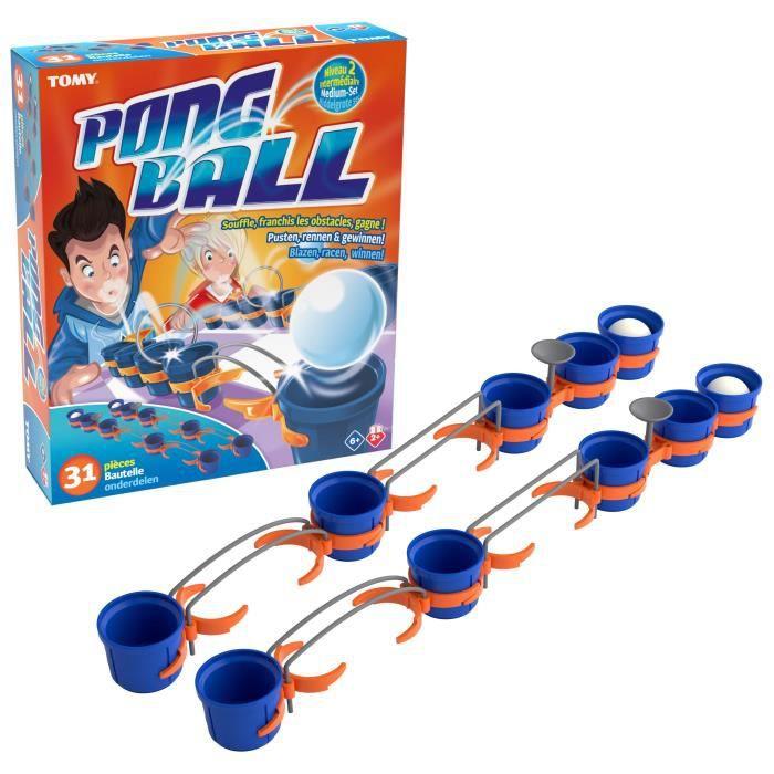 TOMY Pong ball - Intermédiaire - 31 pièces