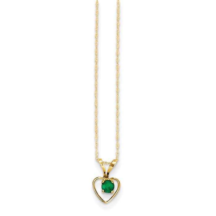collier or massif femme coeur