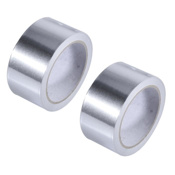 Aluminium Bande Adhésive 50mm Large 5m Avec Acrylique Pur
