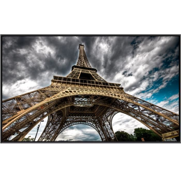 Sticker mural paris tour eiffel dimensions 13 achat vente stickers - Tour eiffel dimension ...