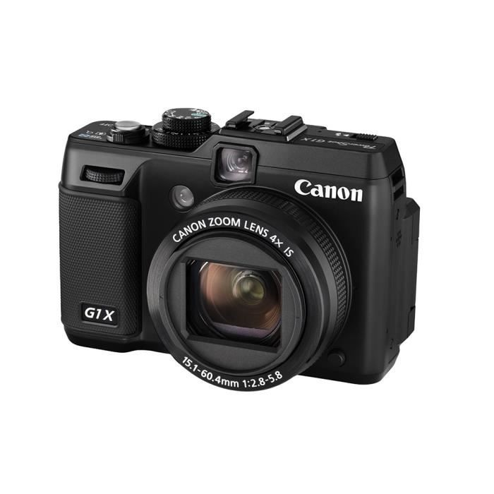 canon powershot g1 x appareil photo num rique achat vente appareil photo compact cdiscount. Black Bedroom Furniture Sets. Home Design Ideas