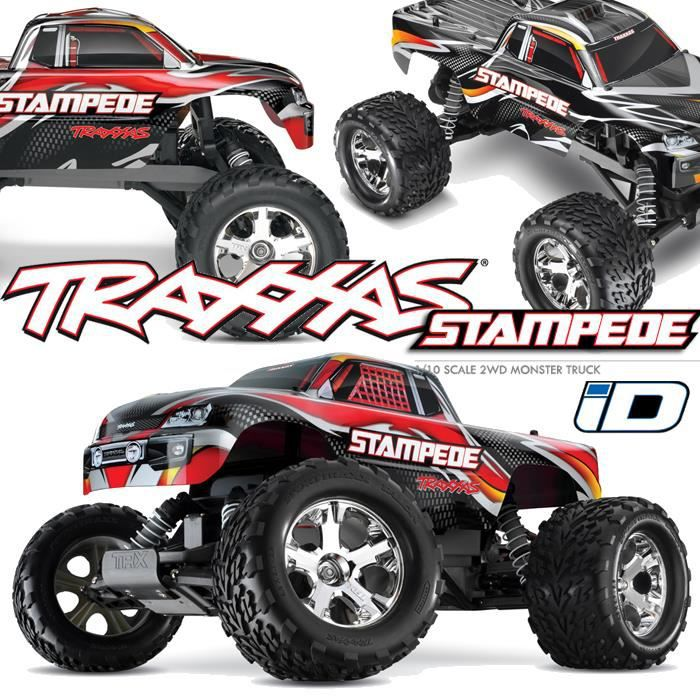 voiture rc monter truck stampede 4x2 1 10 brushed 1. Black Bedroom Furniture Sets. Home Design Ideas