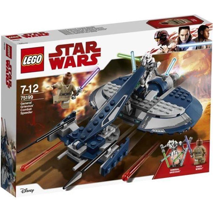 Lego Star Wars Notice Speeder de combat du Général Grievous 75199