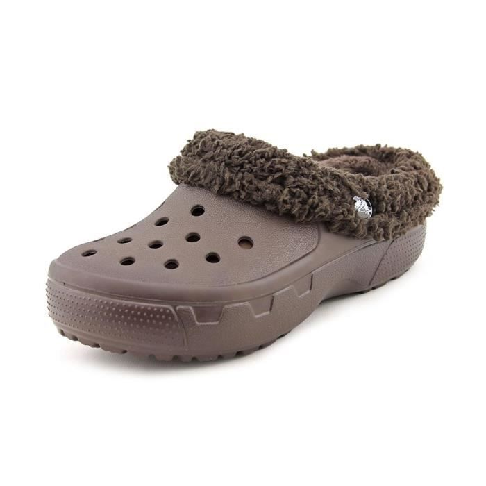 9c0984db5ae Crocs Mammoth Evo Synthétique Sabots Marron - Achat   Vente sabot ...