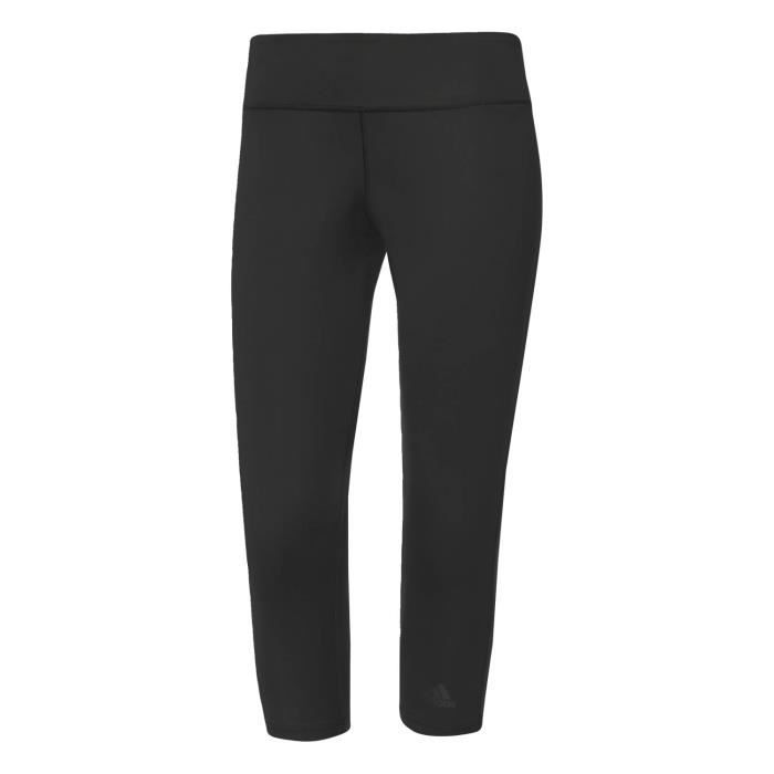 Adidas Performance Collants D2m 3 4 Noir Collants - Leggings Femme  Multisports 7d983efc0c4
