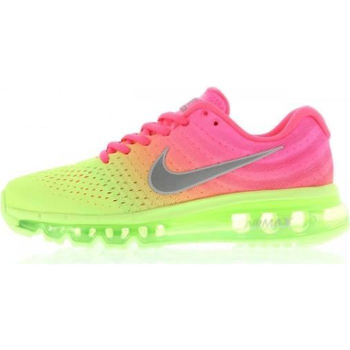 Basket NIKE NIKE AIR MAX 2017 GS - Age - ADOLESCENT, Couleur - ROSE, Genre - Mixte