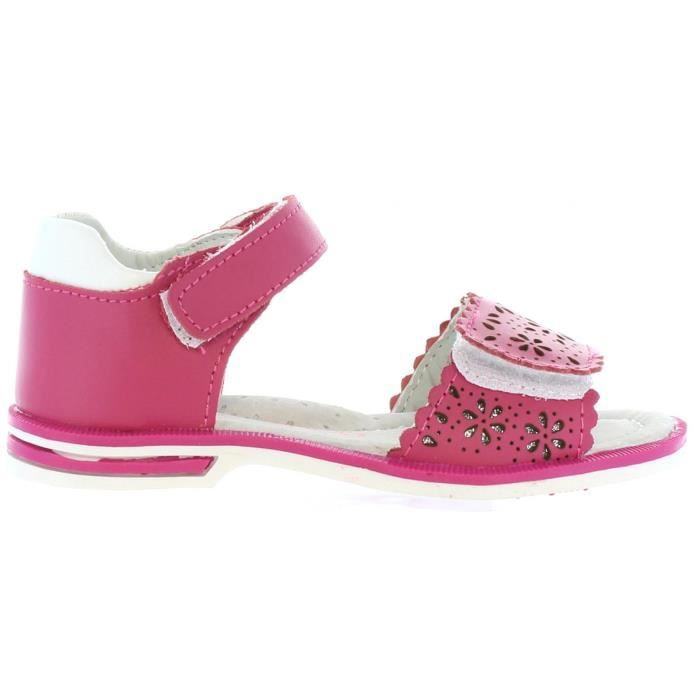 Sandales pour Fille Happy Bee B132524-B2579 FUXIA