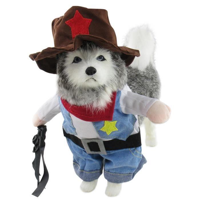 Vetement Chien Drole Cow Boy Deguisement Costume Chiot Chat Mignon Ensemble Avec Un Chapeau Achat Vente Costume Ensemble Vetement Chien Drole Cow Bo Cdiscount