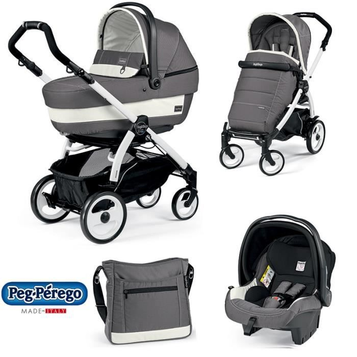 peg perego trio book ascot chassis bp 51 jet achat. Black Bedroom Furniture Sets. Home Design Ideas