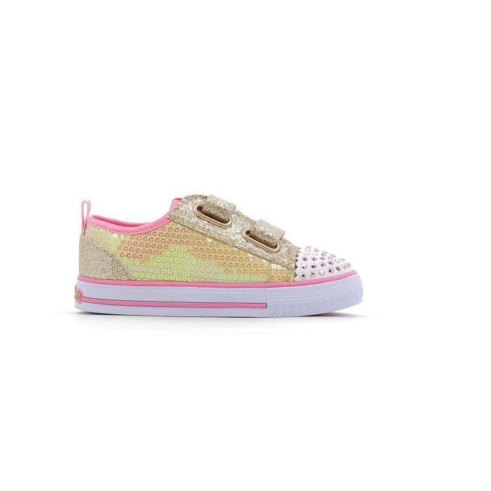 Baskets basses Skechers Twinkle Toes Shuffles Itsy Bitsy