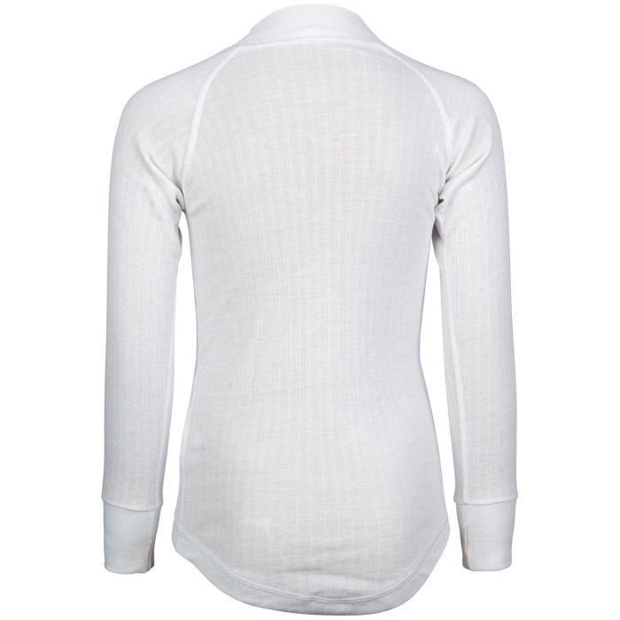 AVENTO Sous-vêtement thermique Manches Longues Enfant - Blanc
