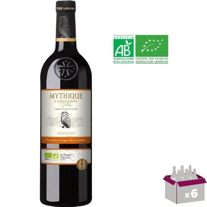 Mythique 2019 Languedoc - Vin rouge du Languedoc-Roussillon - Bio