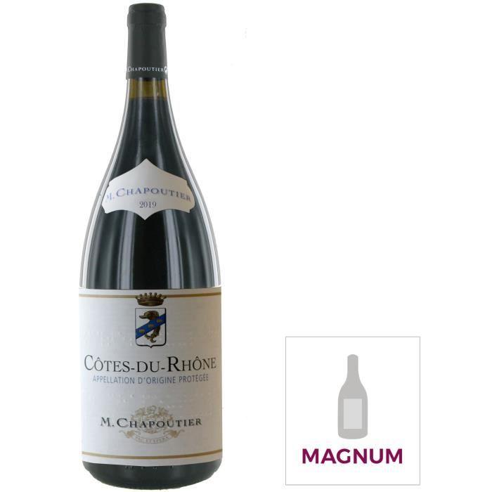 Magnum M. Chapoutier 2019 Côtes-du-Rhône - Vin rouge de la Vallée du Rhône