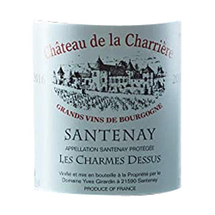 Magnum Château de la Charrière Clos Rousseau 2018 Santenay 1er Cru - Vin rouge de Bourgogne