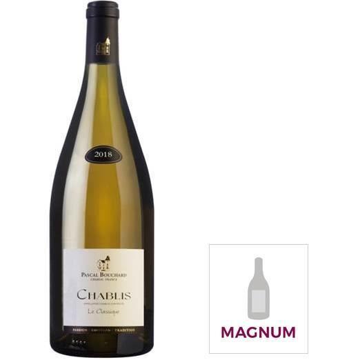 Magnum Pascal Bouchard Le Classique 2019 Chablis - Vin blanc de Bourgogne