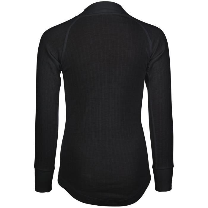AVENTO Sous-vêtement thermique Manches Longues - Enfant mixte - Noir