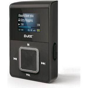 LECTEUR MP3 D-JIX C219 Lecteur MP3 - 16 GO - Noir