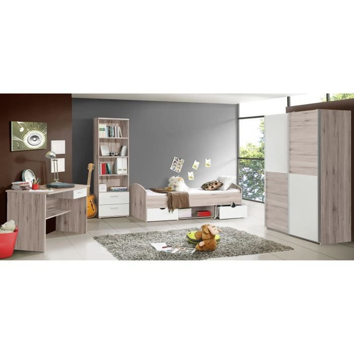 chambre compl te enfant gar on achat vente chambre compl te enfant gar on pas cher cdiscount. Black Bedroom Furniture Sets. Home Design Ideas