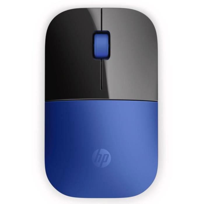 HP Souris Wireless Z3700 V0L81AA - Bleu libellule