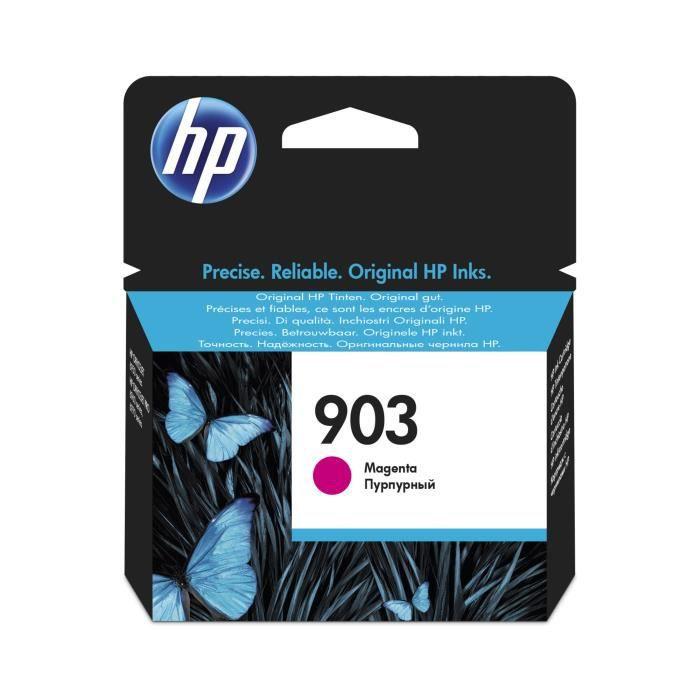 HP 903 cartouche d'encre magenta authentique pour HP OfficeJet Pro 6950/6960/6970 (T6L91AE)