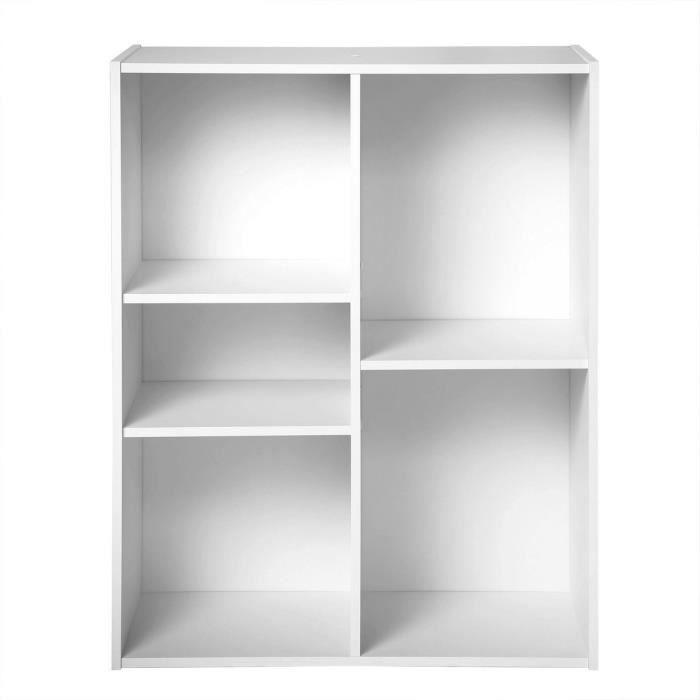 COMPO Cube 5 cases blanc