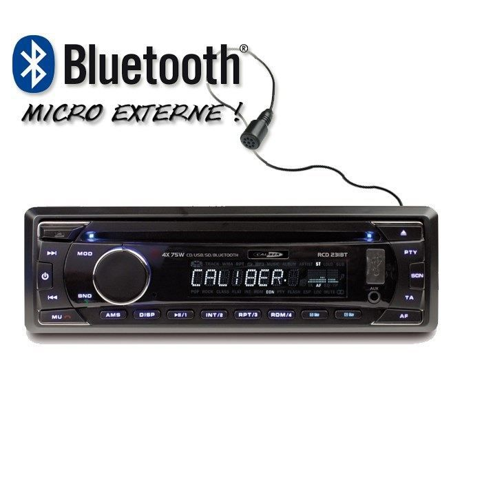 Caliber RCD231BT Autoradio CD / USB / SD / Bluetooth - AUR -