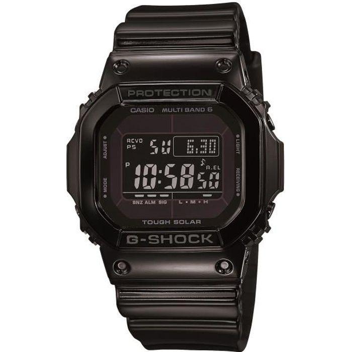 CASIO Montre G-Shock GW-M5610BB-1ER - Solaire - 20 bar - Noir
