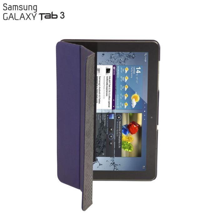 Etui Click-In Targus thz20201eu tablette 10.1- Samsung Galaxy Tab 3 multi-positions ultra résistante bleu