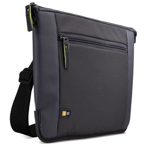 Case Logic Sacoche Intrata ultra-fine nylon gris pour ultra-book, chromebook et tablette pc hybride 11,6' (INT111GY)