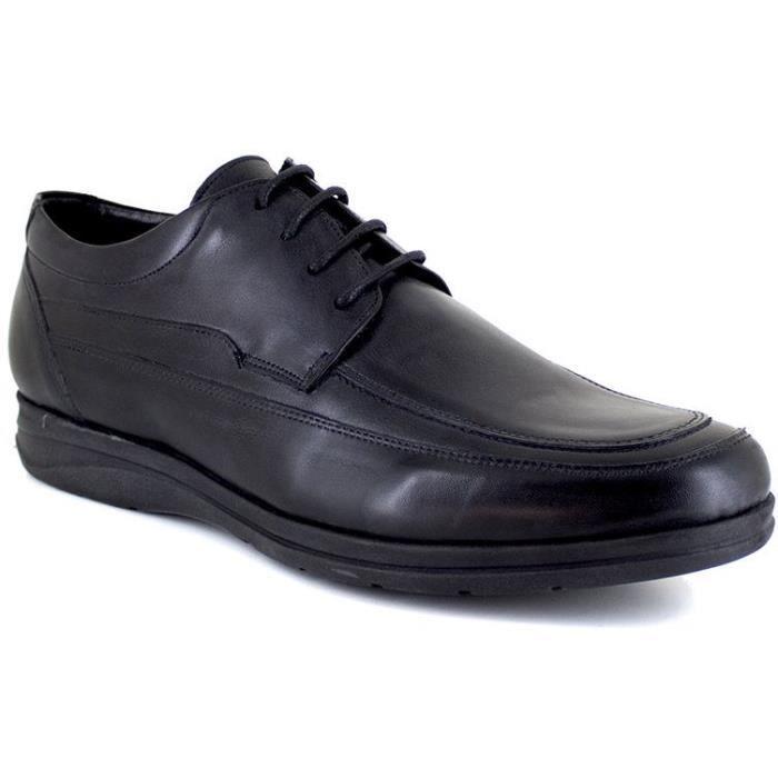 J.BRADFORD Chaussure Derby JBUTAH121NO Noir Homme