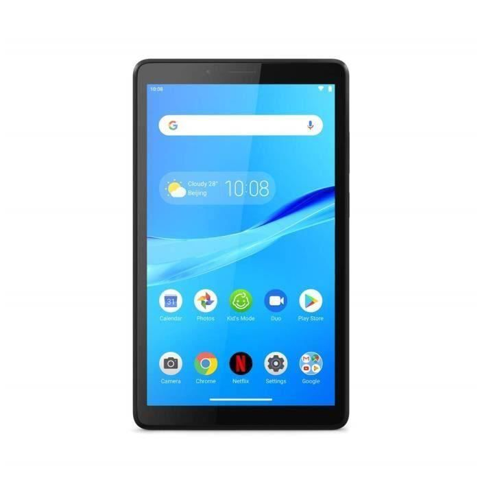 Tablette Tactile - LENOVO M7 - 7'' HD - RAM 1Go - Android 8.0 Stockage 16Go - WiFi - Iron Grey