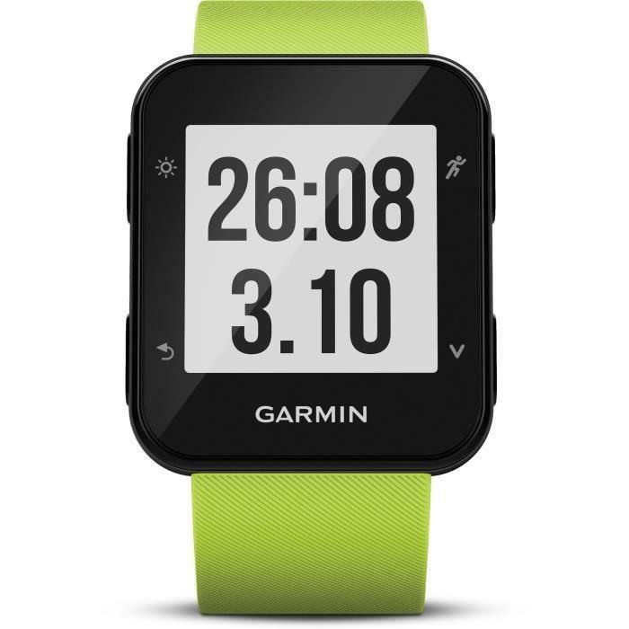 Montre GARMIN - Forerunner 35 HR Montre - Citron vert