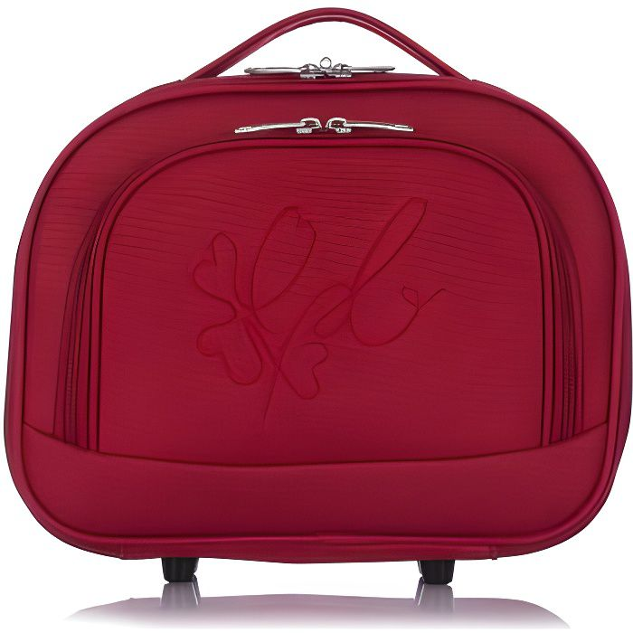 LES P'TITES BOMBES Vanity Souple 18 cm ANNA Red