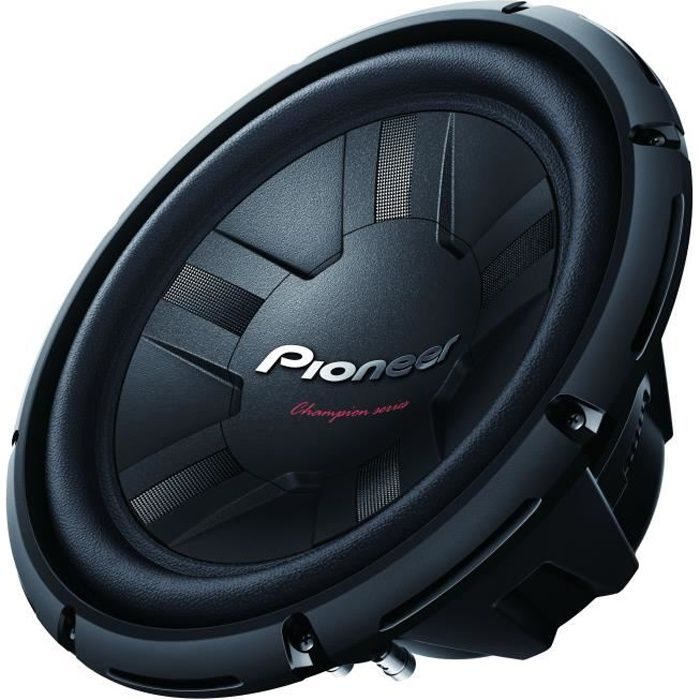 PIONEER TS-W311S4 Subwoofer 30cm 400W RMS - Simple bobine - SBW - AUT -