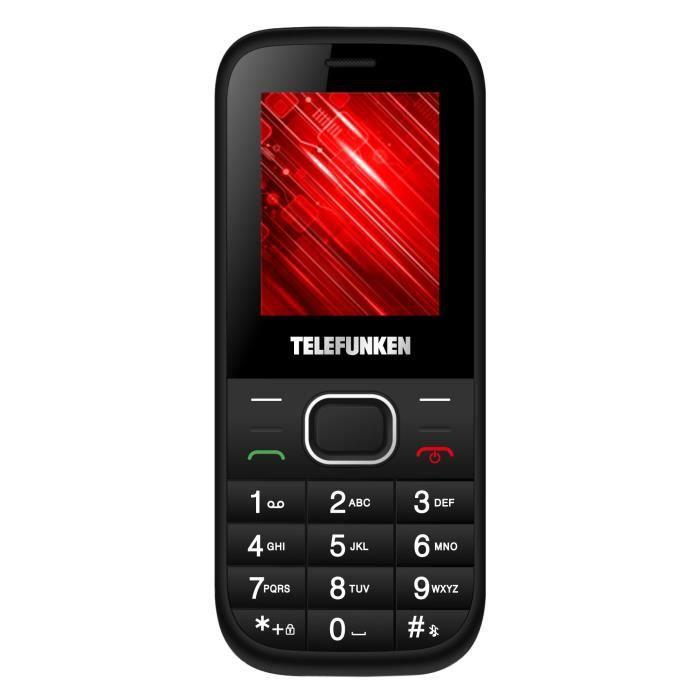 TELEFUNKEN TM 9.1 Classy Entry Black Silver