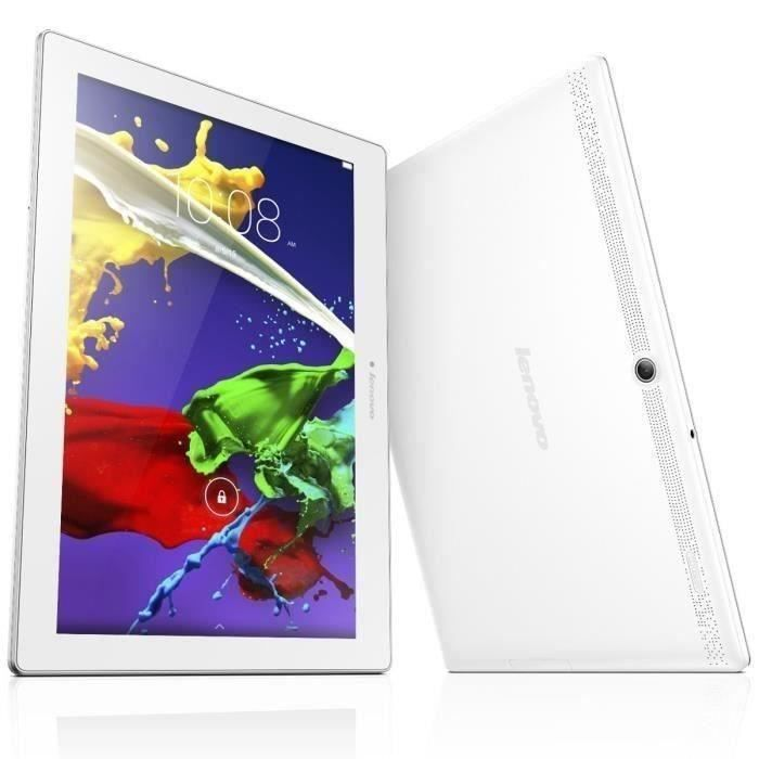 Lenovo Tablette Tactile Tab 2 A10-70 - ZA000021SE - 10'' Full HD - 2Go RAM - Android 5.0 - Quad Core - Disque Dur 16Go
