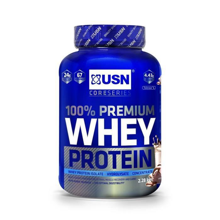 USN 100% Whey Protein Chocolat 2,28 kg Bien Etre