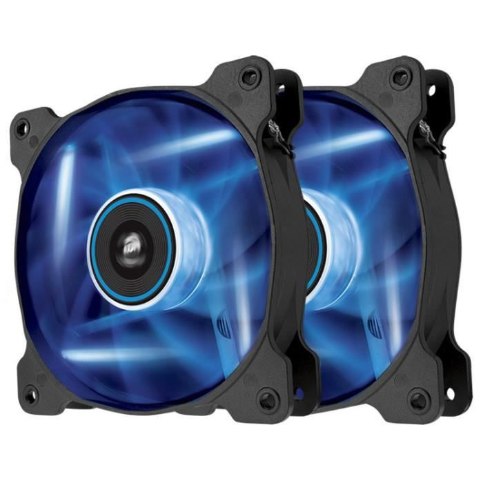 Corsair ventilateur 120mm SP120 LED bleue Double
