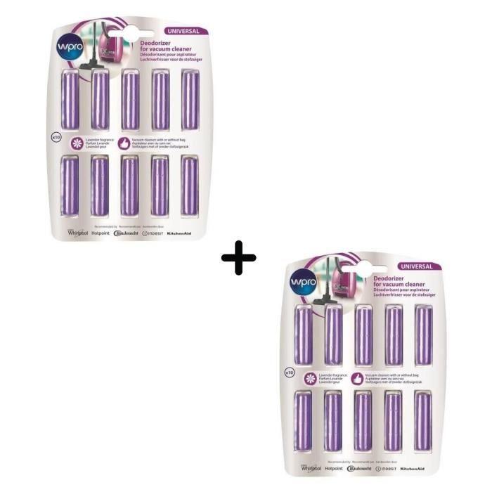 PACK WPRO ACT201 - 2 X Batonnets odorisants senteur lavande