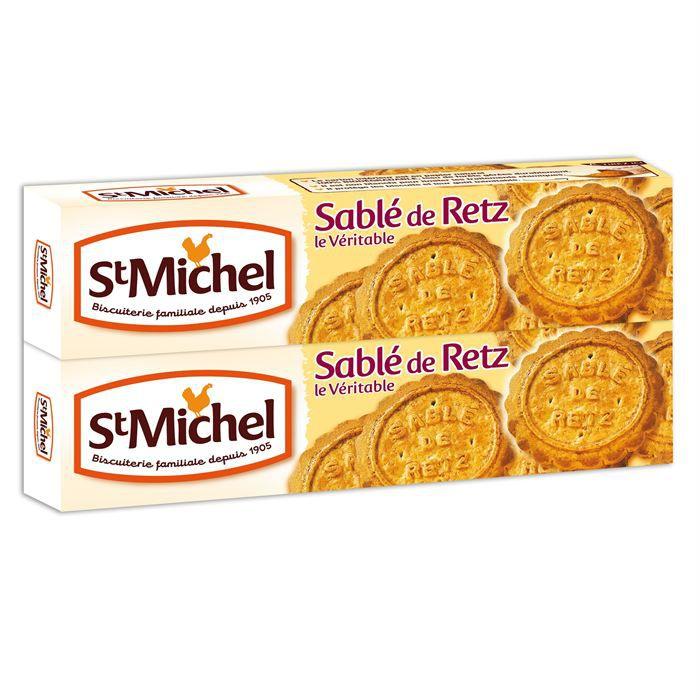 ST MICHEL Sablés Retz 120g (x2)