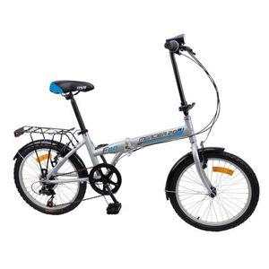 VÉLO PLIANT MERCIER SPORT Vélo pliant 20' - 6 vitesses - Gris
