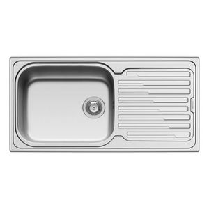 Evier inox achat vente evier inox pas cher cdiscount for Evier cuisine 86x50